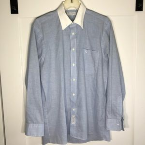 Vintage Christian Dior Chemises Button Down Small